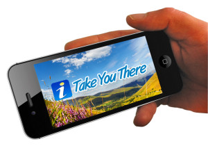 The Take You There app is available now for iPhone, iPad and Android devices.