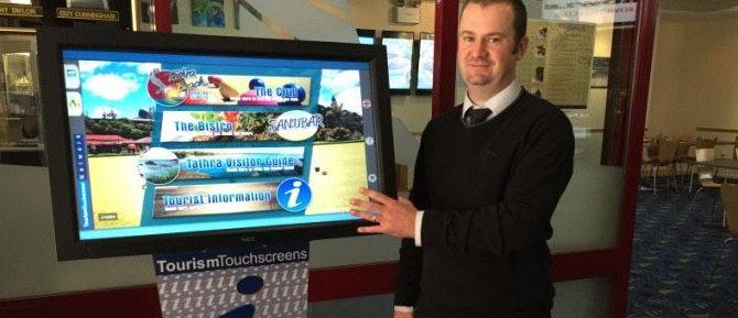 New Aspire kiosk installed at Tathra Bowling Club