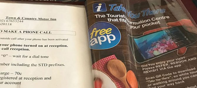 Compendium Inserts for Take you there App