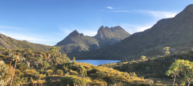 CEO Paul Buckley visits some important sites in Tasmania