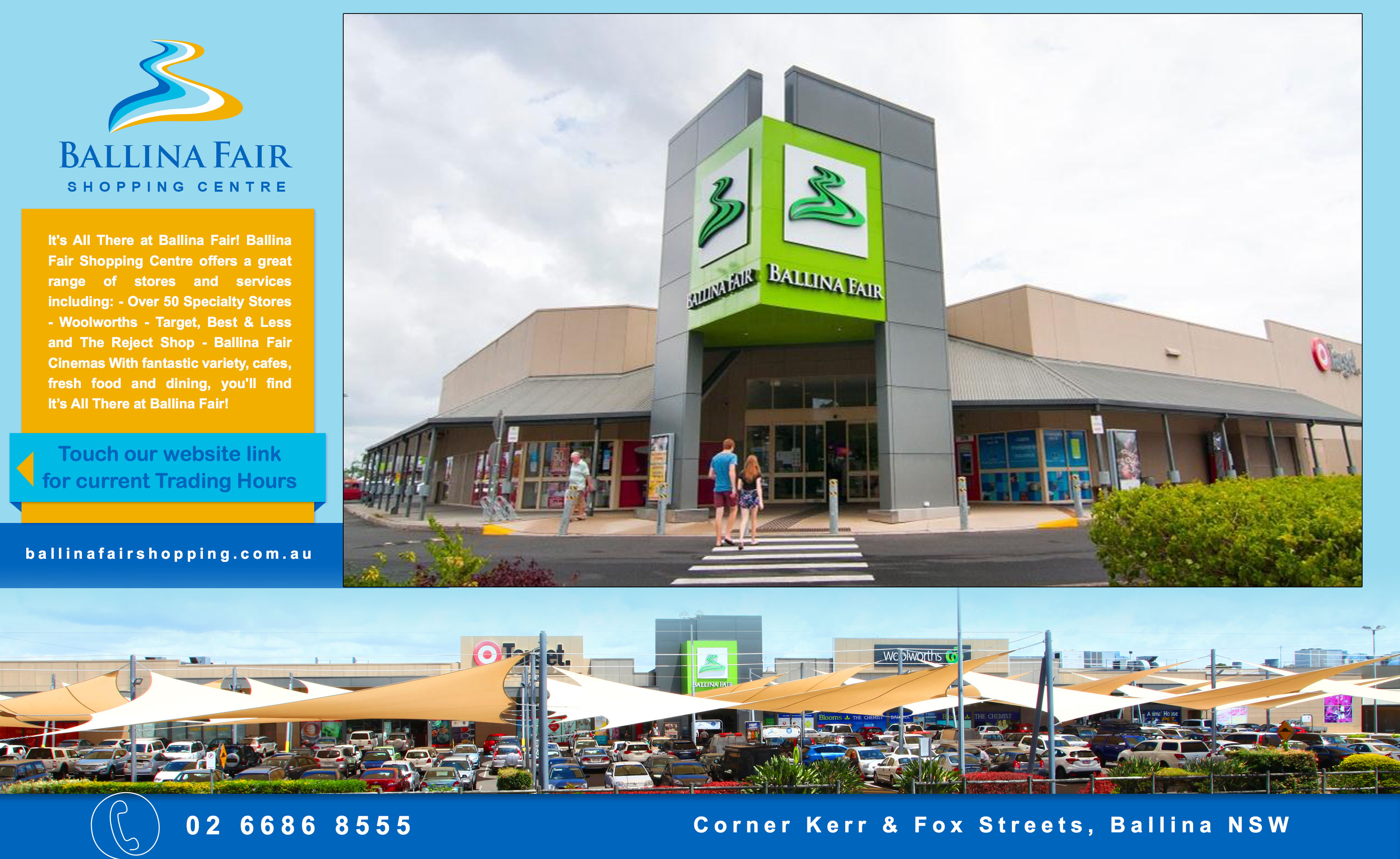 Shopping Mall Ballina Fair
