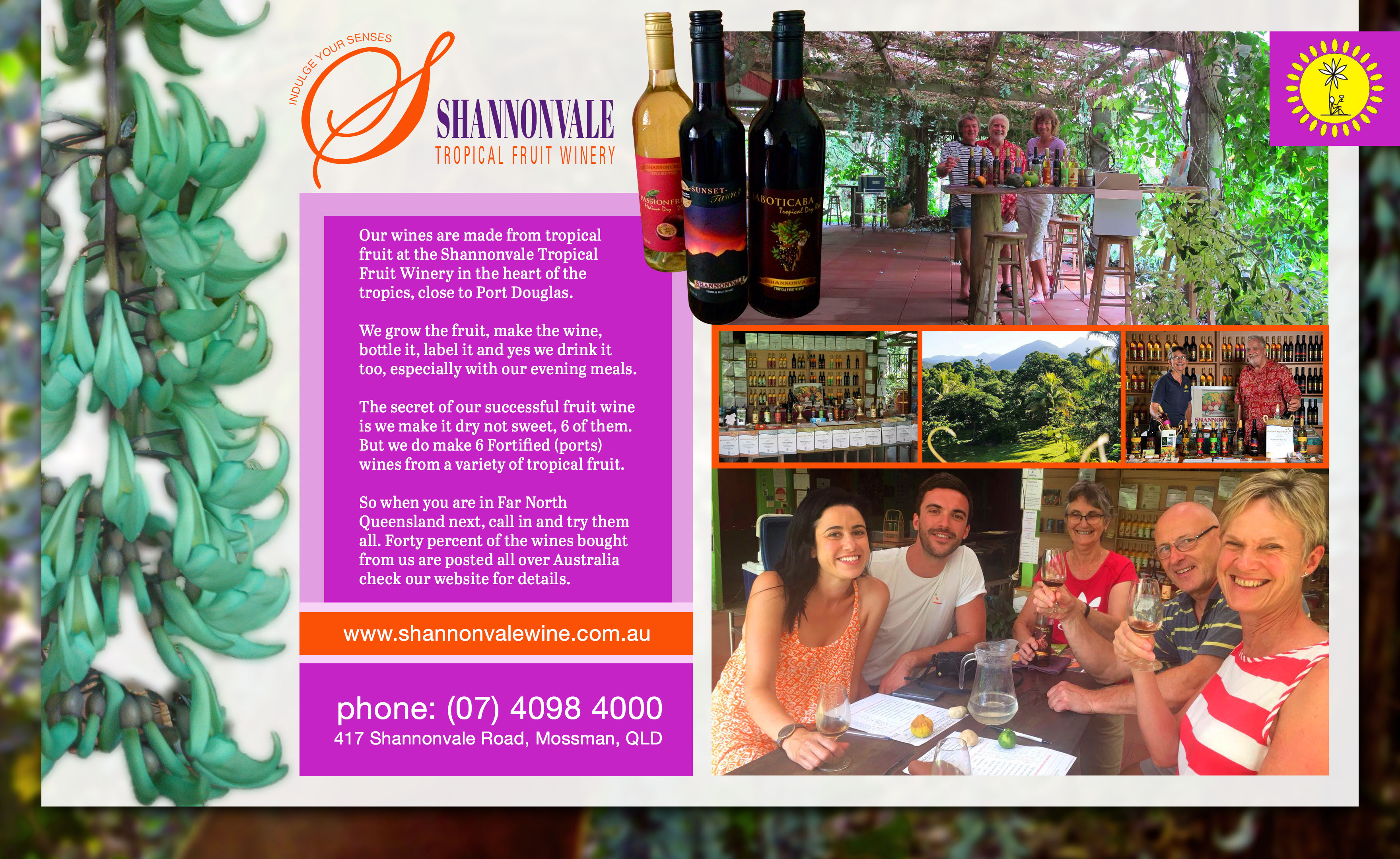 Shannovale Tropical Fruit Winery