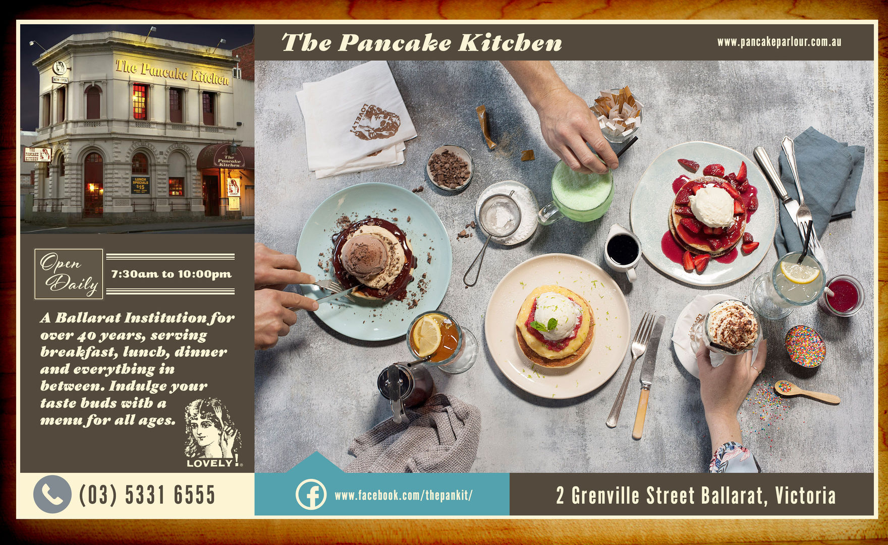 Pancake Kitchen Ballarat