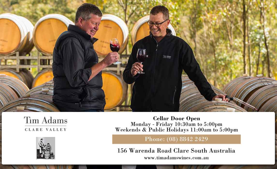 Tim Adams Clare Valley